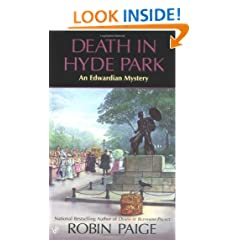 Death in Hyde Park (Robin Paige Victorian Mysteries, No. 10)