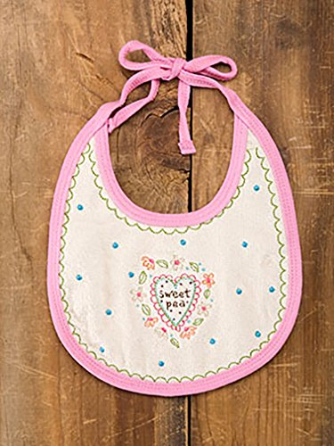Sweet Pea Baby Bib By Natural Life