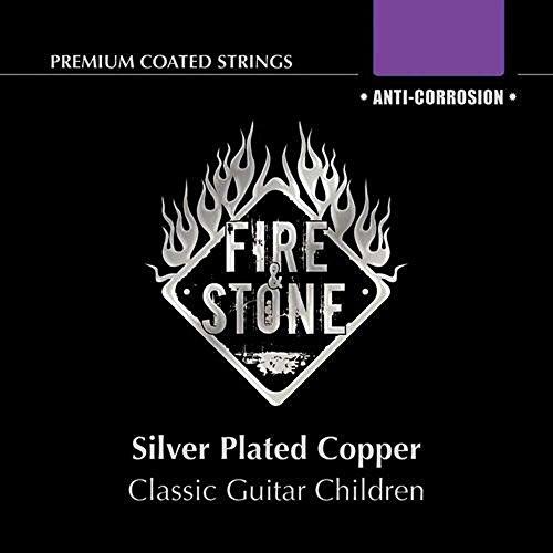 Fire & Stone Saiten Konzertgitarre Satz Kindergitarren 7/8