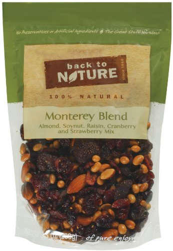 Back To Nature Monterey Blend, 9.5-Ounce Pouches (Pack of 3)