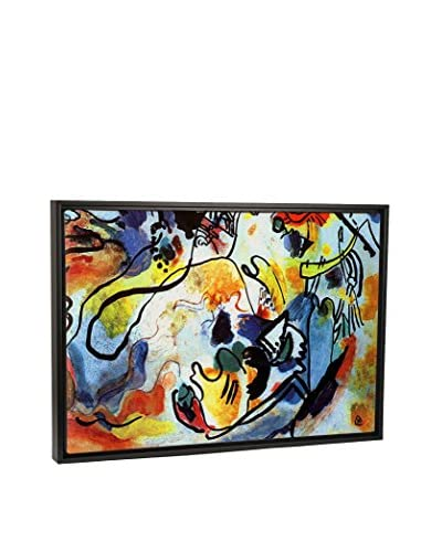 Wassily Kandinsky The Last Judgment Canvas Print