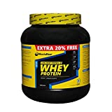 MuscleBlaze Whey Protein, Chocolate 1.2 Kg / 2.65 Lbs
