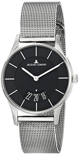 Jacques Lemans Women's 1-1747K London Analog Display Quartz Silver Watch