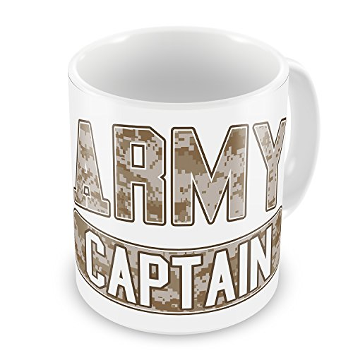 Coffee Mug Army Captain, Camo - Neonblond