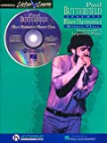 Paul Butterfield - Blues Harmonica Master Class: Book/CD Pack