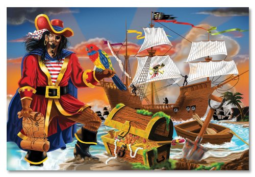 Cheap Fun Melissa & Doug Pirate's Bounty Floor – 100 Piece (B000F9IZFS)