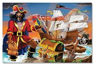 Melissa & Doug Pirate's Bounty Floor - 100 Piece