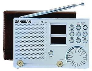 Sangean PT-50 AM/FM Stereo SW Shortwave World Band  Digital Travel Radio