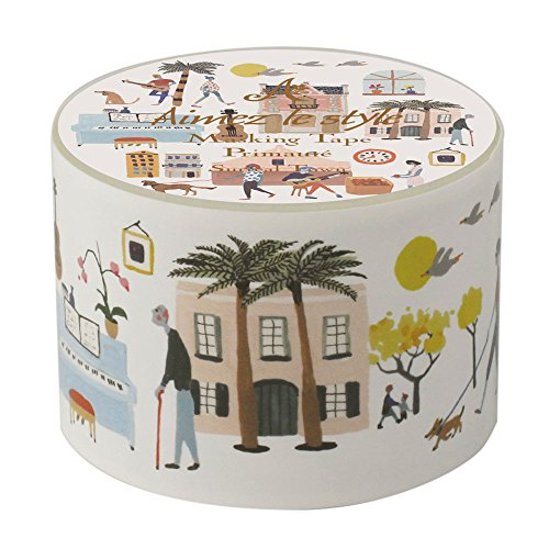 a-4956-sur-real-town-surreal-town-emeru-style-38mm-width-masking-tape-aimez-le-style-masking-tape
