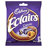 Cadbury Chocolate Eclairs 130 g (Pack of 12)