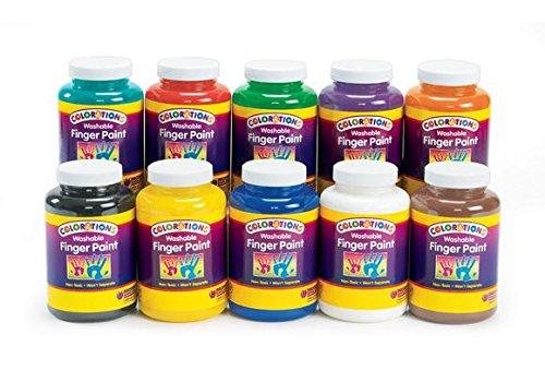 colorations-washable-finger-paints-16-oz-set-of-10-item-cwfps
