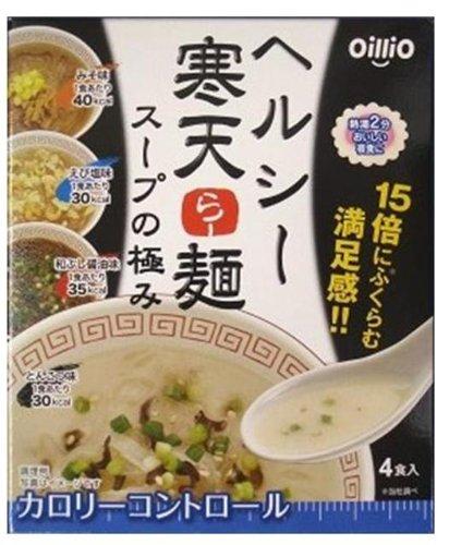 【Amazonの商品情報へ】OilliO ヘルシー 寒天らー麺 スープの極み 4種類