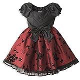 (キャサリンコテージ) Catherine Cottage子供ドレス フォーマル 女の子 120 130 140 150 赤 青 黒 結婚式 ワンピース ... PC215OP