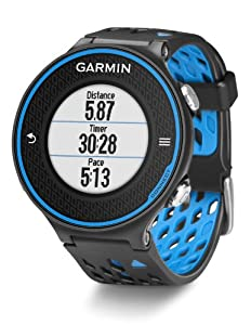 Garmin Forerunner 620 GPS Watch With Heart Rate Monitor - Black/Blue