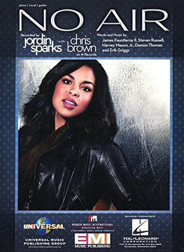 No Air (Jordin Sparks with Chris Brown) (Chris Brown Sheet Music compare prices)