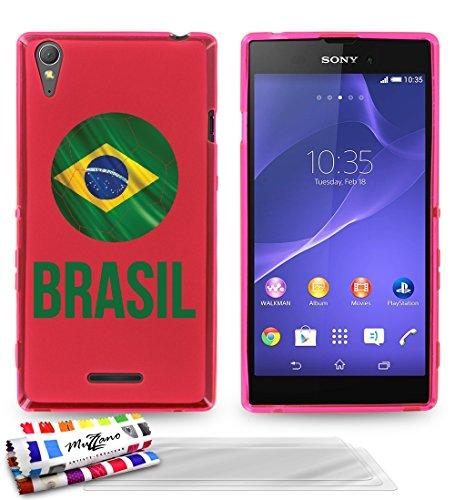 originale-schutzschale-von-muzzano-rosa-ultradunn-und-flexibel-mit-fussball-brasil-muster-fur-sony-x