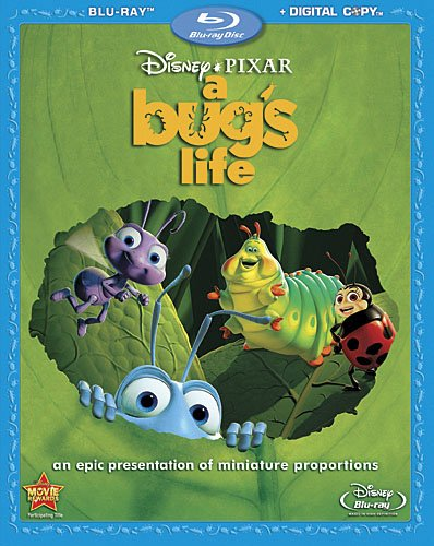 Cover art for  A Bug's Life [Blu-ray]