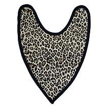Babywearuk British Made Leopard Print Bandana Bib/Dribble Bib