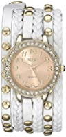 XOXO Women's XO5603 White Braided Wrap Watch