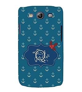 EPICCASE anchor of o Mobile Back Case Cover For Samsung Galaxy S3 Neo (Designer Case)