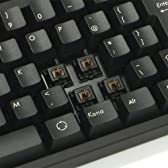 FILCO MajestouchN-KeyRollover メカニカルキーボードUSB&PS2両対応日本語108キー・かな印字なし 独CherryMX茶軸スイッチ ブラック FKBN108M/NB