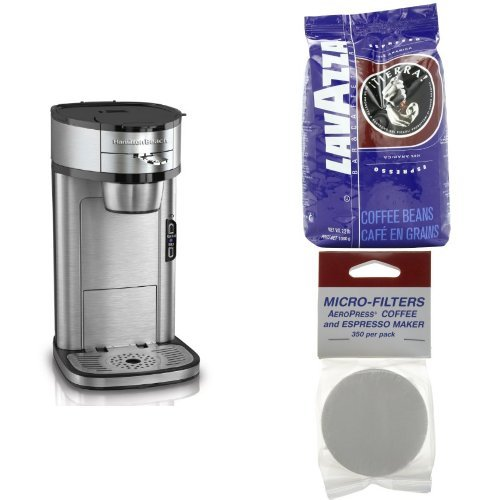 Coffee Maker Bundle by Hamilton Beach and Lavazza