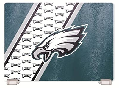 NFL Philadelphia Eagles Glass Cutting Board
