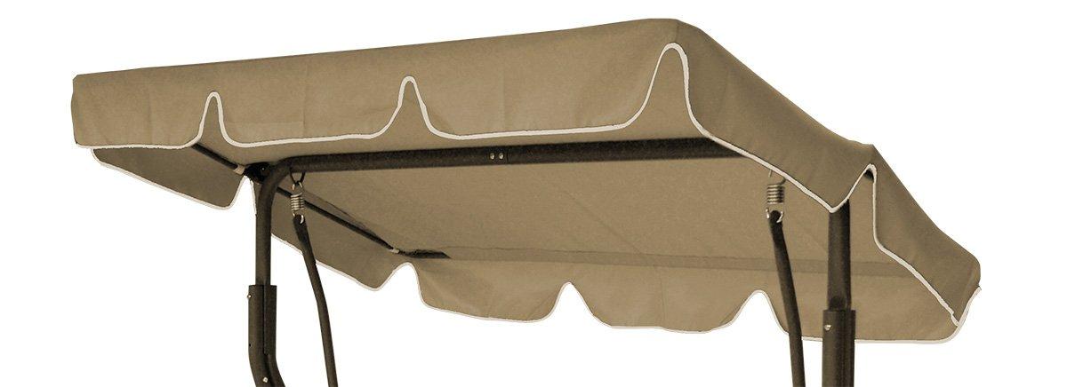 Dachplane SUN 184x137cm für Hollywoodschaukel, cremefarben günstig kaufen