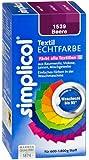 Simplicol 1539 Textil-Echtfarbe, flüssig, Beere, 150 ml