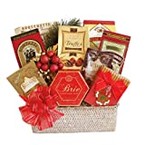 California Delicious Festive Gourmet Gift Basket, 5 Pound