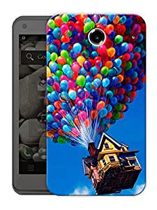 """House In The Air Printed Designer Mobile Back Cover For """"Lenovo S880"""" By Humor Gang (3D, Matte Finish, Premium Quality, Protective Snap On Slim Hard Phone Case, Multi Color)"""