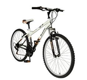 Reviews Piranha Men S Mindtrick Mountain Bike White Black 26
