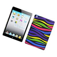 Eagle Cell PIIPADMINIR159 Stylish Hard Snap-On Protective Case for iPad mini - Retail Packaging - Rainbow Zebra... from scthkidto