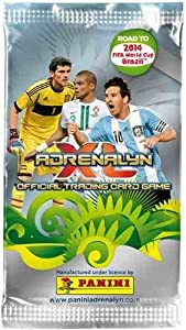 Panini 2014 Road to World Cup Brazil Adrenalyn Soccer Cards Box (50 Packs) by Panini