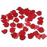 Pack of 1000 Red Silk Rose Petals