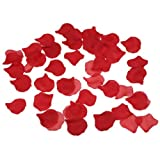 1000 Red Silk Rose Petals