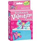 Peaceable Kingdom / Pop Out Butterfly Bookmark Valentine Cards
