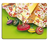 Liili Mouse Pad Natural Rubber Mousepad IMAGE ID: 28536667 Fan and frame