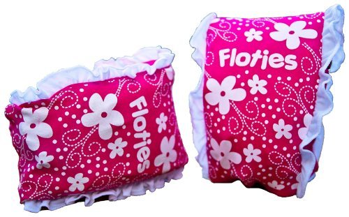Best Prices! Girls Floatsafe Flotie Soft Fabric Armbands floatie