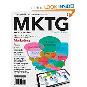 MKTG 7 (with CourseMate with Career Transitions Printed Access Card) Charles W. Lamb, Joe F. Hair and Carl McDaniel