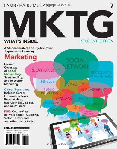 MKTG 7 (with CourseMate with Career Transitions Printed Access Card) (New, Engaging Titles from 4LTR Press)