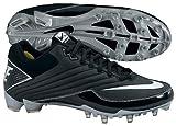 Nike 396237011 Speed TD Men's Football Cleats (Black/White)
