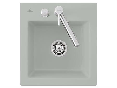 Villeroy Boch Subway &XS Fossil Light Grey Ceramic Kitchen Sink Spule
