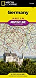 National Geographic Maps Germany adv. ng r/v (r) wp (Adventure Map (Numbered))