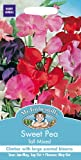 Mr Fothergills - Pictorial Packet - Flower - Sweet Pea - Tall Mixed - 40 Seeds