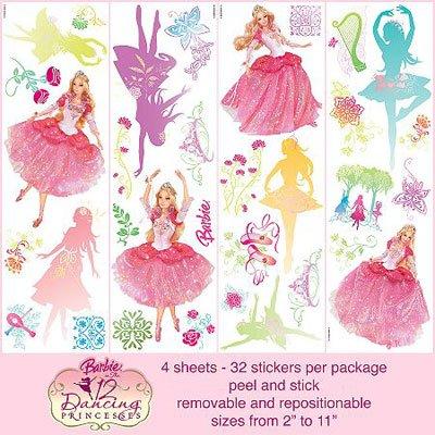 "Barbie ""12 Dancing Princesses"" Wall Accent"