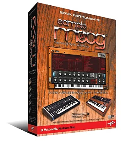 Sample Moog the Moog Synth Anthology Software