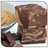 Mo's Fudge Factor, Chocolate Peanut Butter Fudge (1/2 Pound)