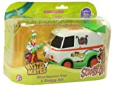 SCOOBY-DOO MYSTERY MATES GHOSTHUNTER VAN & SHAGGY SET NEW