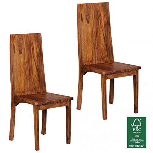 FineBuy-Esszimmersthle-2er-Set-Massiv-Holz-Sheesham-Doppelpack-Kchen-Sthle-Holzsthle-dunkel-braun-Landhaus-Stil-Esssthle-mit-Lehne-Natur-Produkt-Design-Sthle-mit-Beine-Echt-Holz-unbehandelt